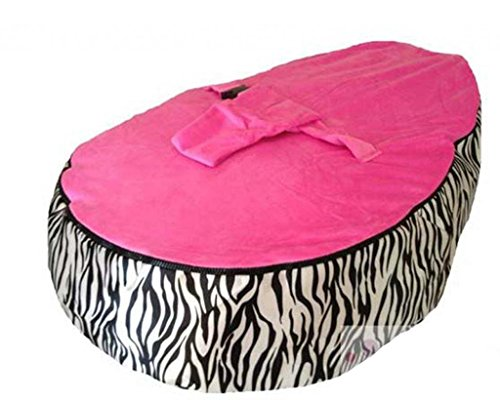 Lcy Baby Bean Bag Chair Zebra Print Pink Unfilled Buy