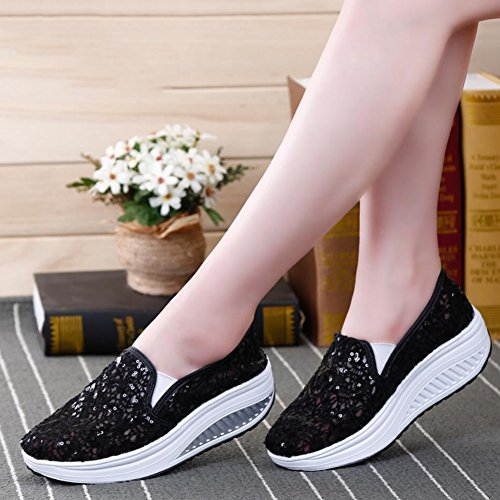 Primavera Mocassini Sneakers Xue Slip D Guida Da Donna Mesh Fitness E Shake Shaking Shoes Athletic Loafers Flat Autunno Scarpe Platform guida r8wTwYqI