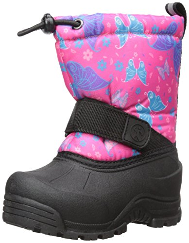 Northside Frosty Winter Boot (Toddler/Little Kid/Big Kid),Fuchsia/Multi,5 M US Big -