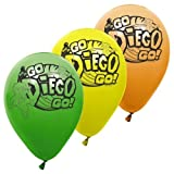 Go Diego Go 11 Latex Balloons 6 pc [Toy] [Toy]