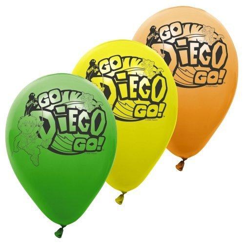 Go Diego Go 11 Latex Balloons 6 pc [Toy] [Toy] -
