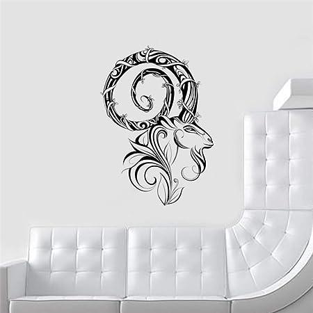 LovelyHomeWJ Diseño Moderno Animales Salvajes Tatuajes de Pared ...