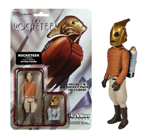 """The Rocketeer ~3.7"""" Action Figure: Funko x Super 7 x The Rocketeer ReAction Series"""