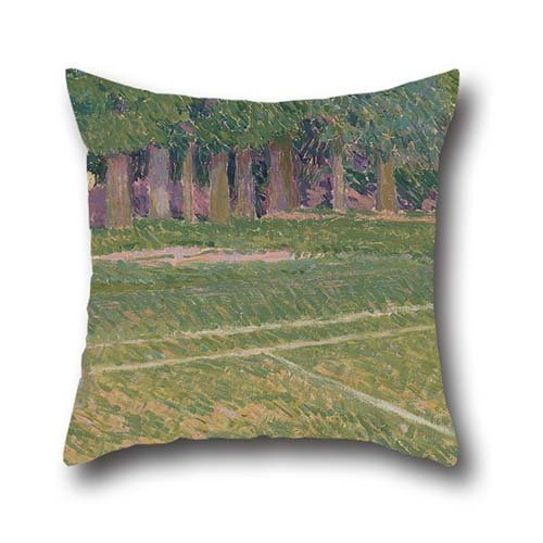 pillow-shams-of-oil-painting-spencer-frederick-gore-tennis-at-hertingfordbury-18-x-18-inches-45-by-4