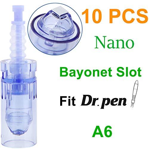 Dr. Pen Ultima A6 Nano Cartridges, Disposable Replacement Parts (10pcs)