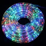Buy tucasa dw 54 led pipe light multicolor online at low prices mufasa multi color led rope light 35 feet mozeypictures Choice Image