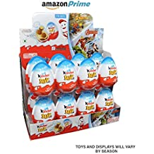 (Kinder Display With 16 units) - Kinder Joy With Surprise Inside - Sold by ICSTORE (Display W/ 16 Boy)