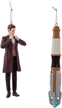 Amazon.com: Kurt Adler Doctor Who 11th Doctor/destornillador ...