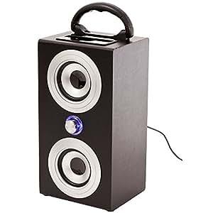 Bluestork BS-DK200 - Altavoz para PC con dock, reproductor MP3 (3 W)