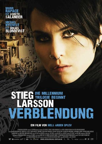 The Girl with the Dragon Tattoo Poster Movie German Michael Nyqvist Noomi Rapace Lena