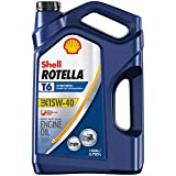 Rotella 550050467-3PK T6 Synthetic Diesel Motor Oil 15W-40, 1 Gallon, 3 Pack