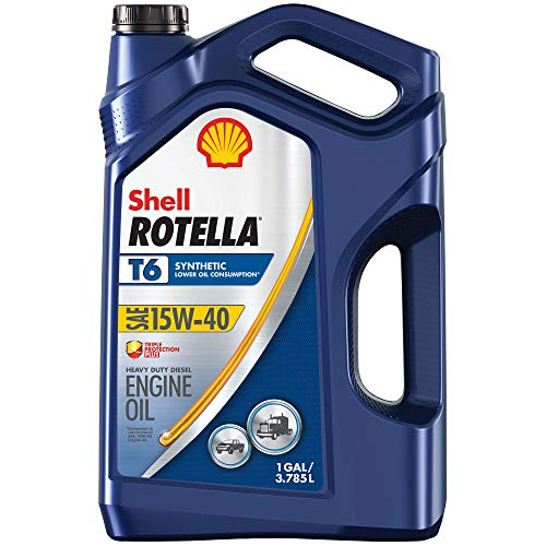 Rotella 550050467-3PK T6 Synthetic Diesel Motor Oil 15W-40, 1 Gallon, 3 Pack (Best Oil For A Duramax Diesel Engine)