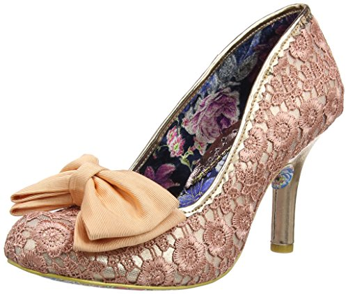 Mal E Bow - Zapatos de Tacón Mujer, Color Rojo, Talla 43 Irregular Choice