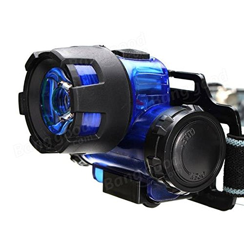 Moppi 3W de alta potencia profesional LED Luces de pesca nocturna lámpara de faro de la minera