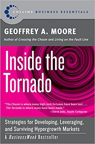 image for Inside the Tornado: Strategies for Developing, Leveraging, and Surviving Hypergrowth Markets (Collins Business Essentials)