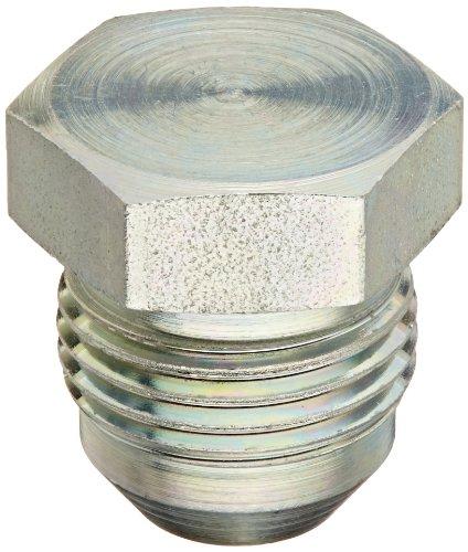 Eaton Aeroquip 900599-8S Plug, Female 37 Degree JIC Fitting, JIC 37° End Types, Carbon Steel, 3/4 JIC(m) End Size, 1/2