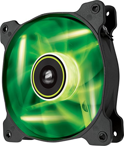 Corsair  Air Series SP 120 LED Green High Static Pressure Fan Cooling - single pack - Illuminations Series