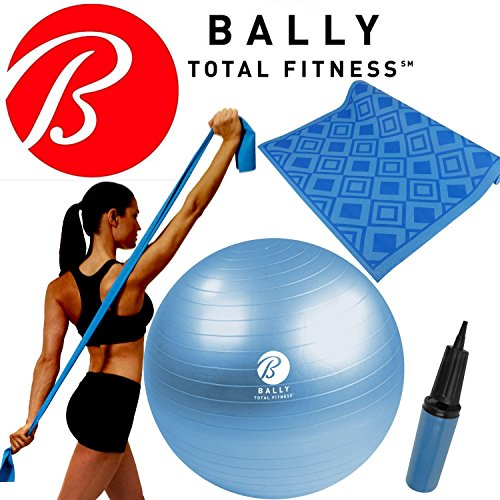 bally-fitness-yoga-wellness-kit-65cm-ball-pump-excercise-mat-stretch-resistance-band-blue