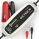 CTEK MXS 3.8 Automatic Battery Charger (Charges & Maintains Car and Motorcycle Batteries) 12V, 3.8 Amp - UK Plug