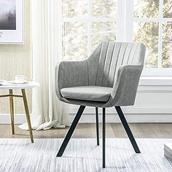 Amazon Com Art Leon Velvet Vanity Chair Modern Shell