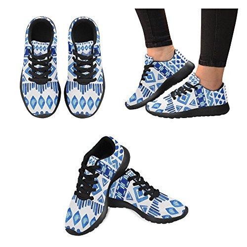 Interestprint Kvinna Löparskor Jogging Lätta Sport Gå Athletic Sneaker Multi 7