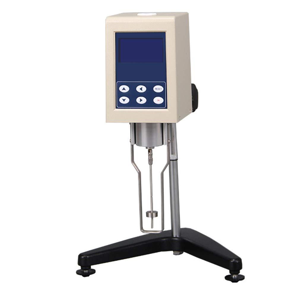 Wellish Digital Rotary Viscometer NDJ-8S Viscosity Meter Tester 1-2000000 mPa.s LCD Display Fluidimeter Tester Meter with Adjustable Speed Lab Viscometer by Wellish
