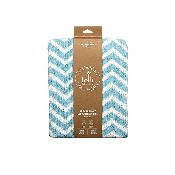 Lolli Living Chevron Chenille Blanket, Teal - Snuggly chenille construction Modern chevron design in fun color palette Machine washable - blankets-throws, bedroom-sheets-comforters, bedroom - 51jeEOGItPL. SS570  -
