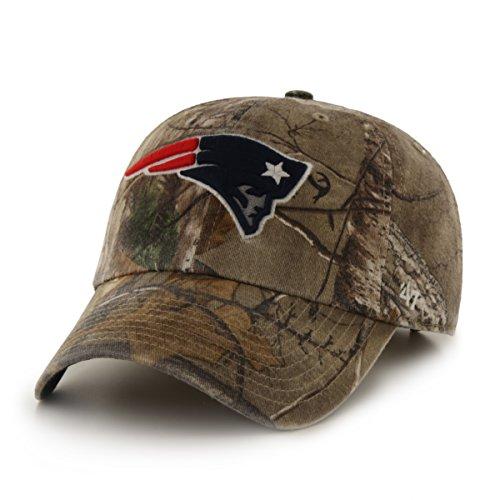 NFL New England Patriots '47 Brand Big Buck Clean Up Adjustable Hat, (Hat New Camouflage Camo)