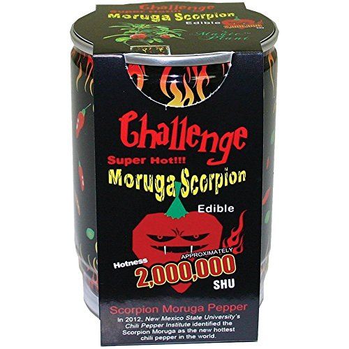 Moruga Scorpion Pepper - Grow Your Own Hottest Pepper in the World! - 2,000,000SHU 3oz/85gr (Magic Plant)
