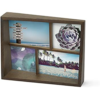 Amazon Com Umbra Pane Four Opening Collage Picture Frame