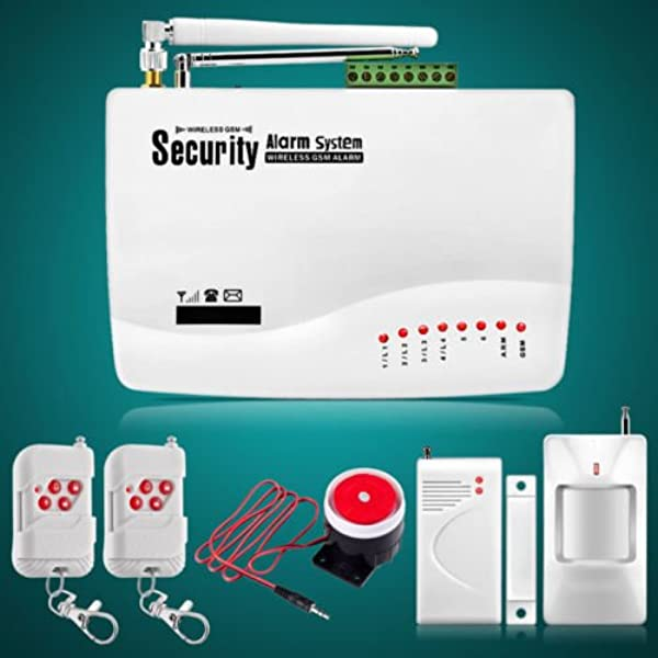 Wireless GSM SMS Home Security Burglar Home//Office Alarm System Auto LCD Dialer