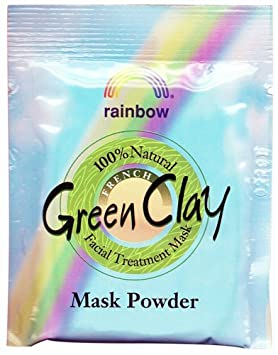Rainbow Research - French Green Clay Mask Powder - 0.75 oz. Matrixyl 3000 Starter Kit 4 oz. (Pack of 3)