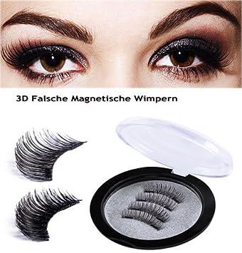 Magnetische Falsche Wimpern Lange Und Volle Augen Deckung Drei