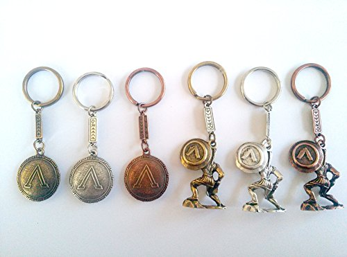 ancient-greek-spartan-king-leonidas-with-a-shield-and-warrior-shield-keyring-set-of-6