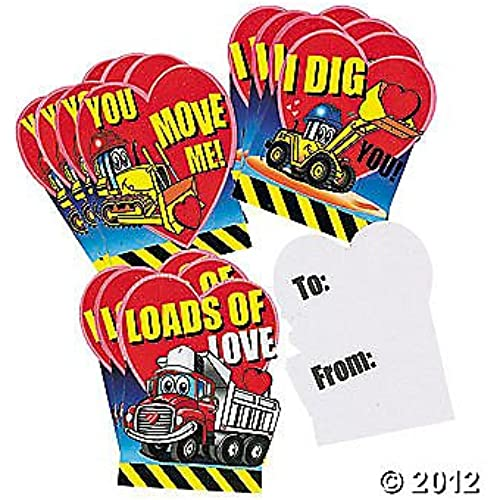 Valentine Day Cards - Set of 12 Cardboard Cards (Loads Of Love) Sales