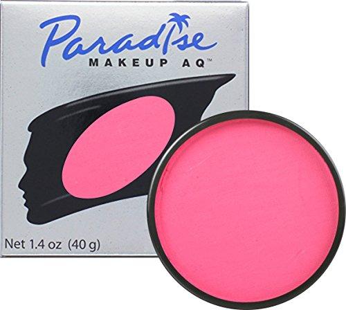 Dark Halloween Makeup (Mehron Makeup Paradise AQ Face & Body Paint, DARK PINK: Pastel Series - 40gm)