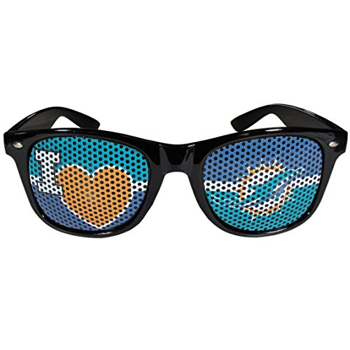 NFL Miami Dolphins I Heart Game Day Shad - Dolphins Black Frame Sunglasses Shopping Results