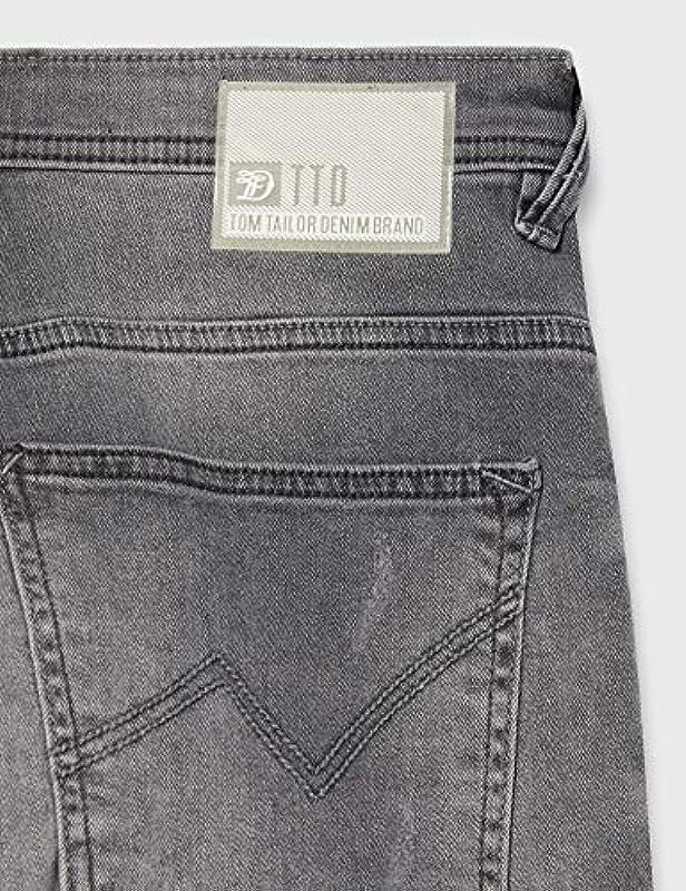 TOM TAILOR Conroy Tapered męskie spodnie: Odzież