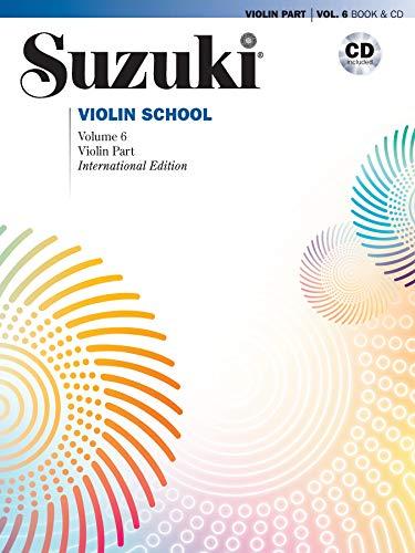 Suzuki Violin School, Vol 6: Violin Part, Book & CD