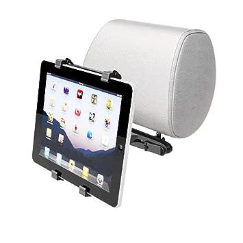 YouN Soporte Universal Ajustable para Apple iPad Tablet PC GPS reposacabezas de Coche: Amazon.es: Informática