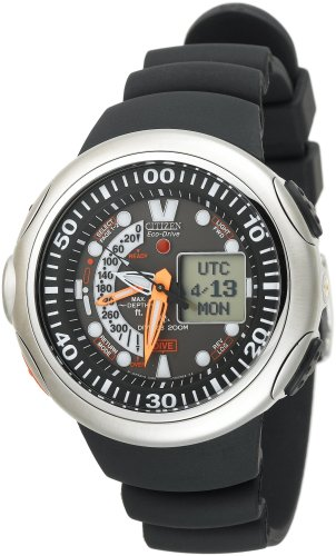 Citizen Men's JV0010-08E Eco-Drive 20th Anniversary Aqualand Imperial Dive Watch