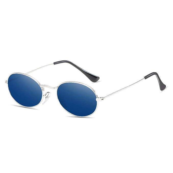 LOUZHENI Gafas redondas redondas Gafas de sol pequeñas Gafas ...