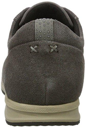 Geox Women's D Avery B Low-Top Sneakers Grey (Dk Grey) cheap sale visit new gj6I3eI