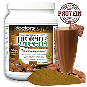 PH50 Protein Greens Natural Chocolate Flavor Powder