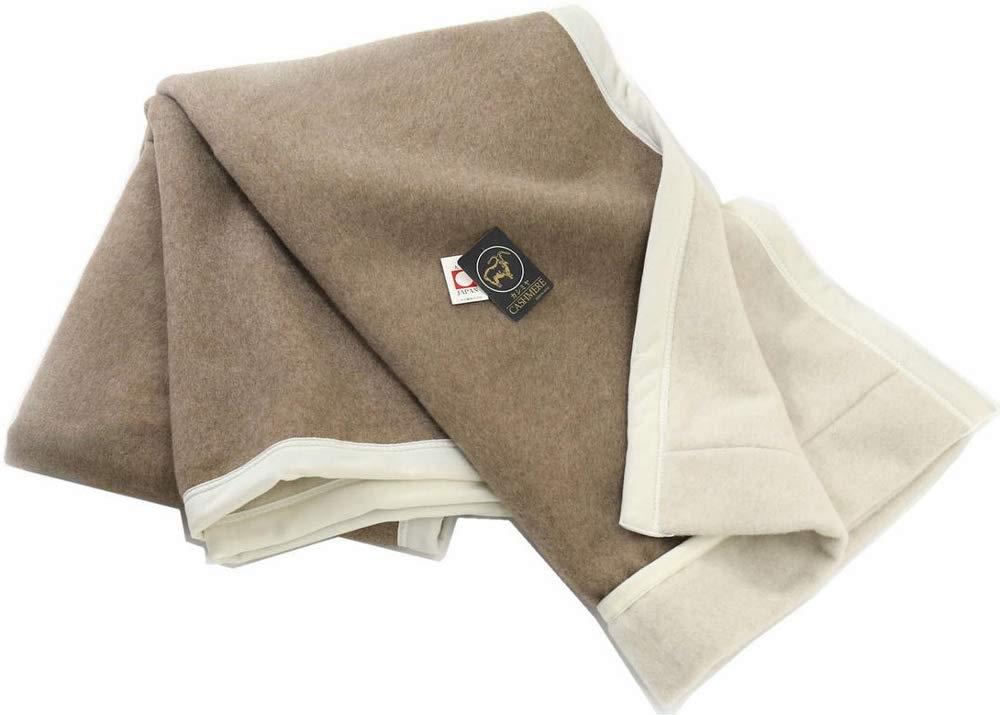 公式 三井毛織 プレミアム カシミヤ カシミア 毛布毛羽部 180x210cm ダブルサイズ 日本製 ウールマーク付き B07DN4KFM4