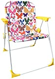 Yummy Cookie Camping, Lawn, Beach Chair for Toddler and Kids, Lightweight and Foldable Kids Travel Chair