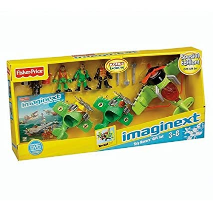 Amazon.com: Imaginext – Sky Racers Set de regalo exclusivo ...
