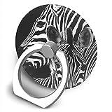 Zebra Bracket, 360 Degree Swivel Creative Ring Buckle Bracket Multi-Functional Ring Bracket Stand for Universal Phone