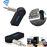 Wireless Bluetooth FM transmitter 3.5mm AUX Audio Stereo Modulator Music Home Car Receiver Adapter w/ Microphone Car MP3 Player