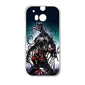 Venom Spider-man Fashion Comstom Plastic case cover For HTC One M8
